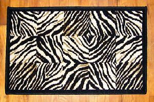 Animal Print Accent Rug