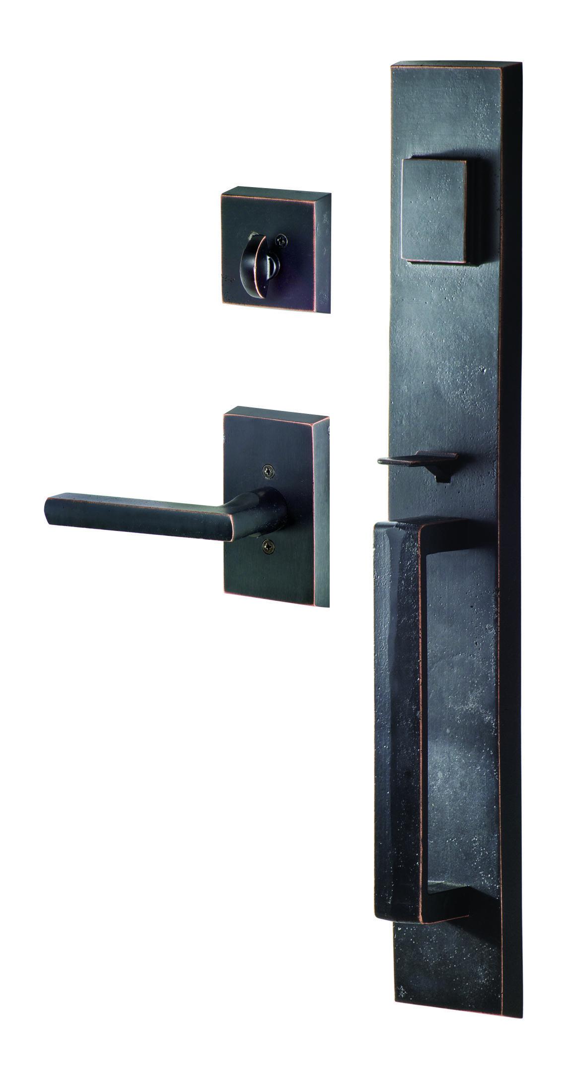 SureLoc Vail Rustic Series Entry Handleset Rustic doors