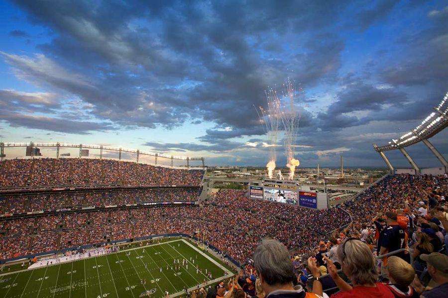 Sports Authority Field Mile High Denver Broncos
