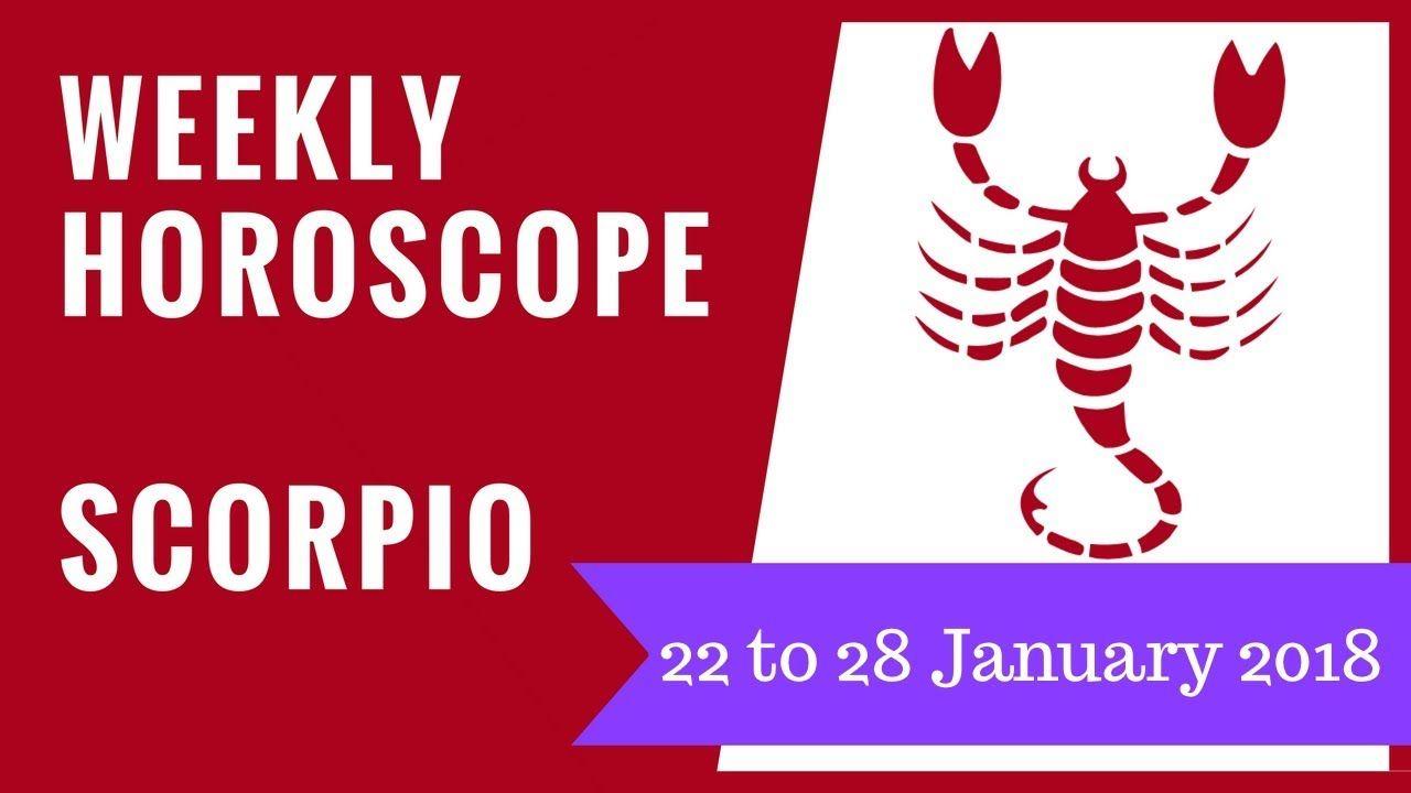 Scorpio Weekly Horoscope 7 - 13 October, 12222