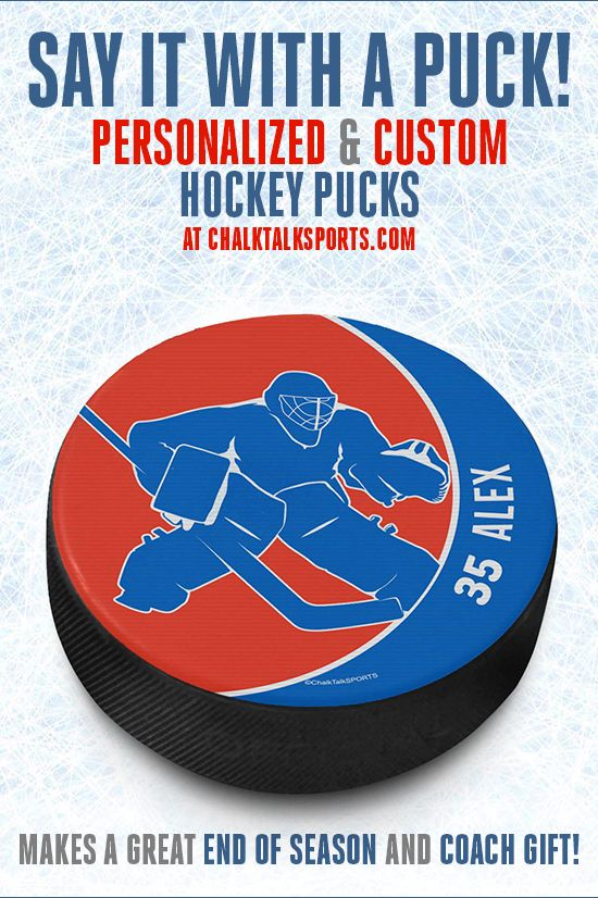 Custom Hockey Pucks Can Make A Great Birthday Gift Or Party Favor For