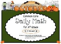 October Daily Math Problems