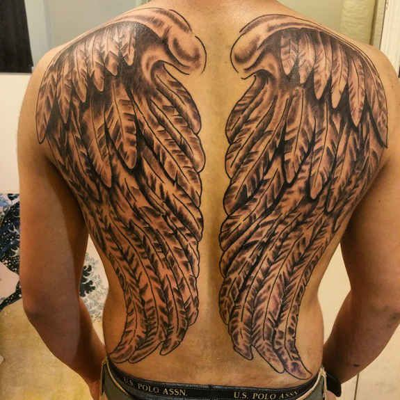24 angel wings tattoos and their deep spiritual connection tattoo urmus Gallery