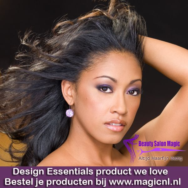 Is Design Essentials® Strengthening Therapy System een straighten-product?  Ja, het Design Essentials® Strengthening Therapy System maakt het haar steil en geeft het tegelijkertijd maximale versterking.