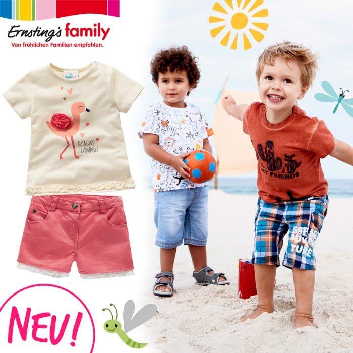 NEU bei Ernsting's family: viele tolle Sommersachen ...