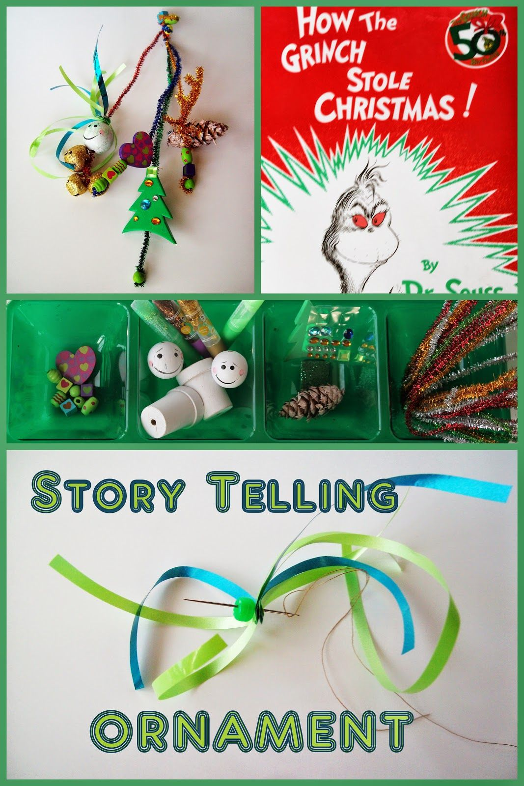 Storytelling Ornament Grinch Stole Christmas Grinch And