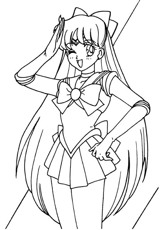 Sailor_Moon_coloring_book9_015.jpg | COLORING PAGES :) | Pinterest ...