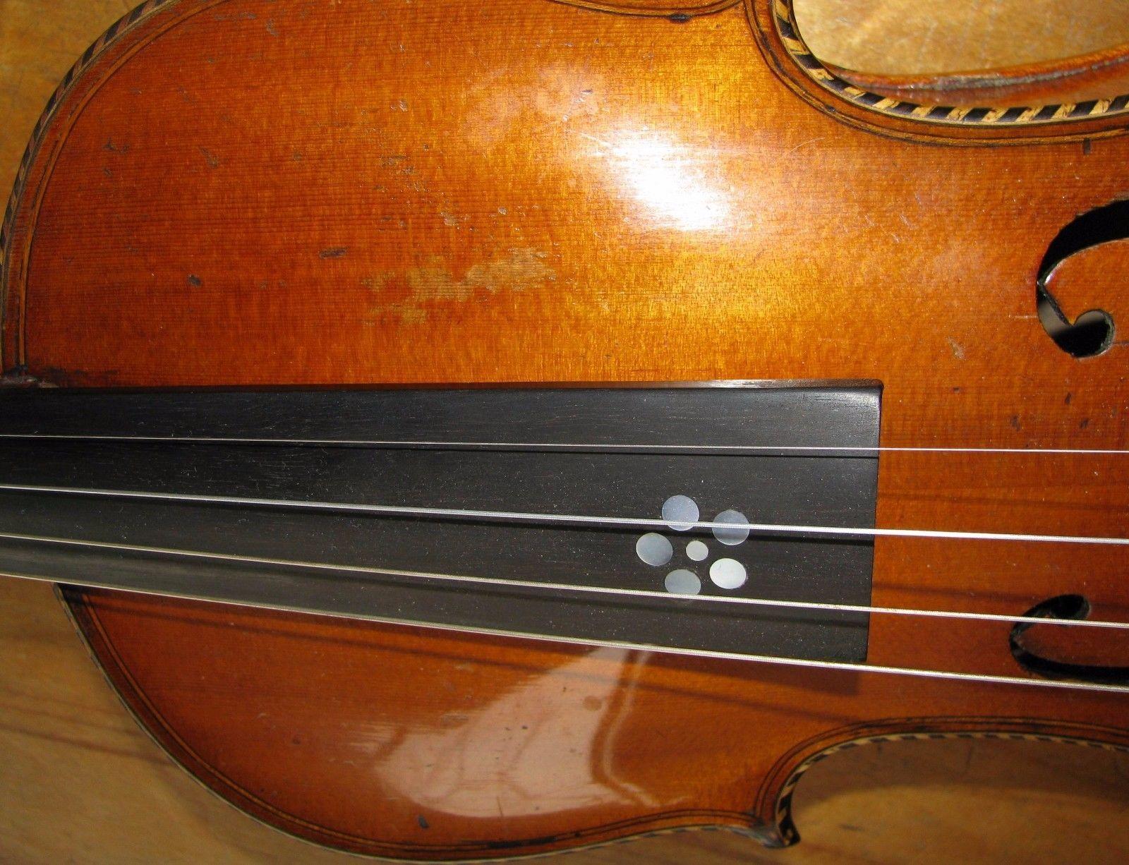 Sehr Alte Geige Violine Um Aus Mittenwald Mit