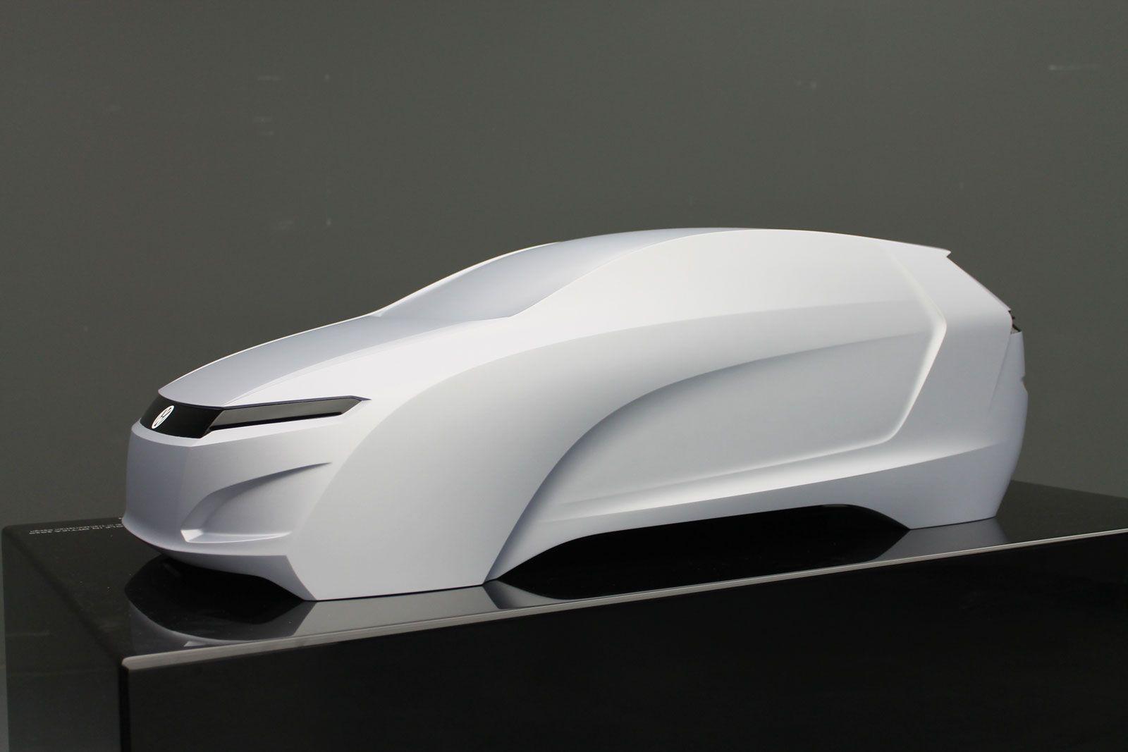 Volkswagen Golf Vision 2020 Concept Scale Model Car Body Design Ooooo Scale Models Car Scale Models Cars