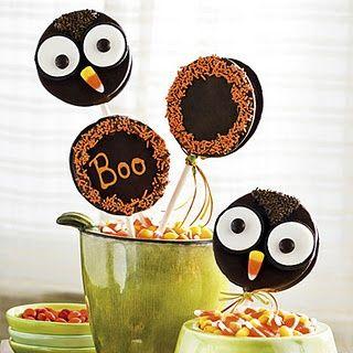 Owl oreo cookies