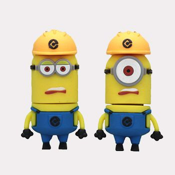 Minions Construction Worker Pen Drive Minions Chute 2015 16