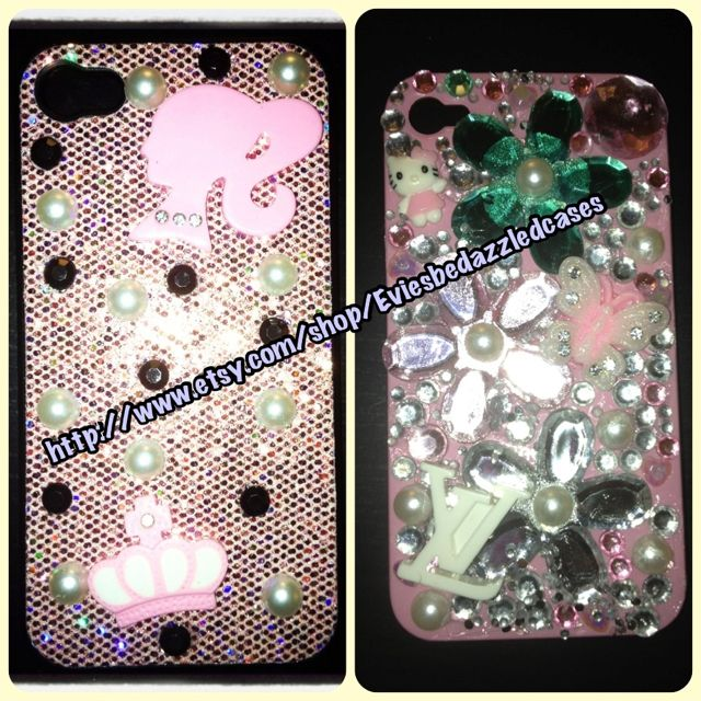 Daisy & Barbie case :) Many more available for sale on http://www.etsy.com/shop/Eviesbedazzledcases