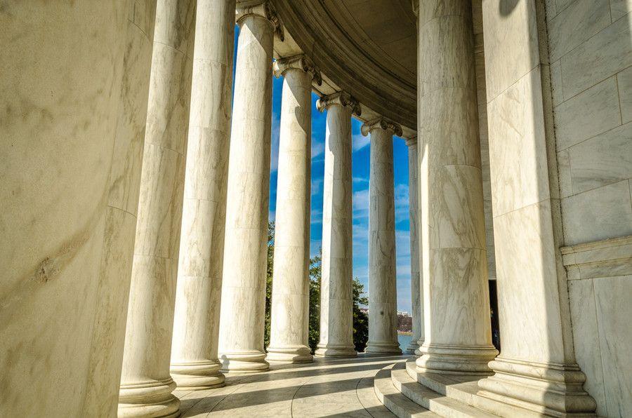 Jefferson Memorial Columns by Sammie Jones on 500px