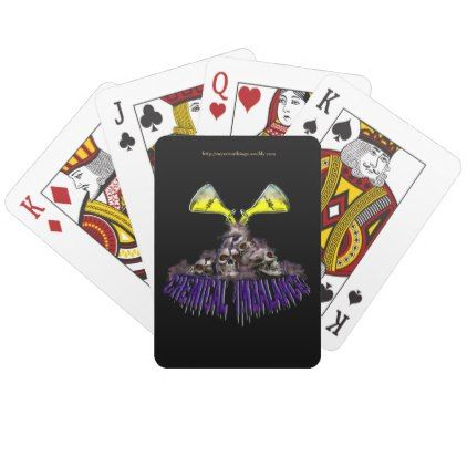 Chemical Imbalance Playing Cards Home Gifts Ideas Decor Special