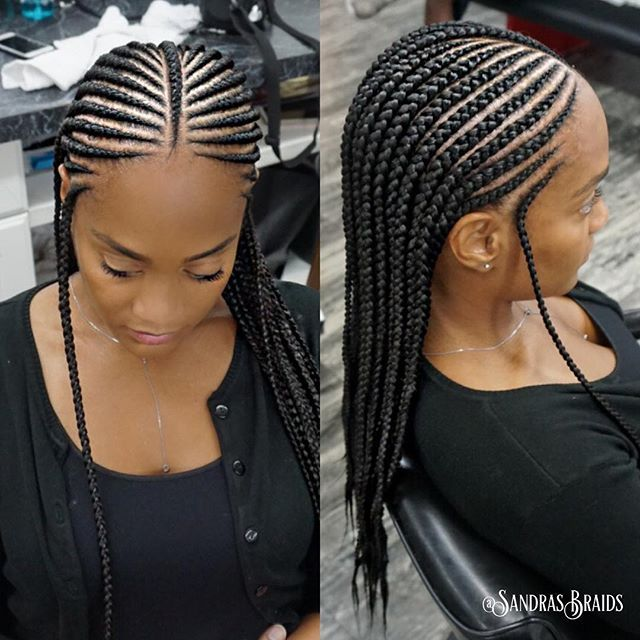 Perfect For Vacation 2rows With Images Natural Hair Styles