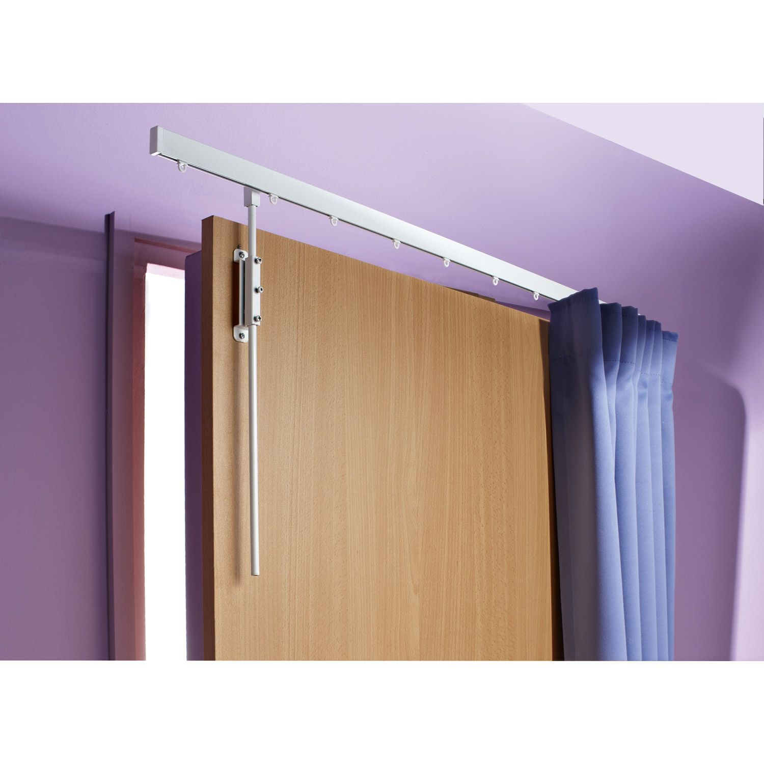 Tringle rideau pour la porte d entr e 28e chez leroy for Tringle porte d entree