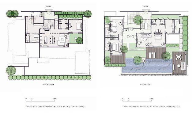 Hotel Alila Villas Soori By Scda Architects Bali Indonesie Villa Plan Scda Architects Hotel Plan