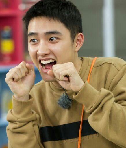 Do kyungsoo - SBS Website Update with Running Man   Do