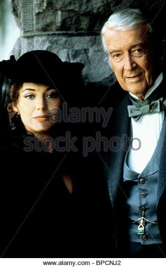 LESLEY-ANNE DOWN JAMES STEWART NORTH AND SOUTH (1985) - Stock Photo