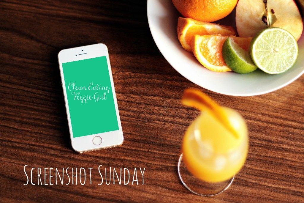 Screenshot Sunday {10 Recipes to Make This Week