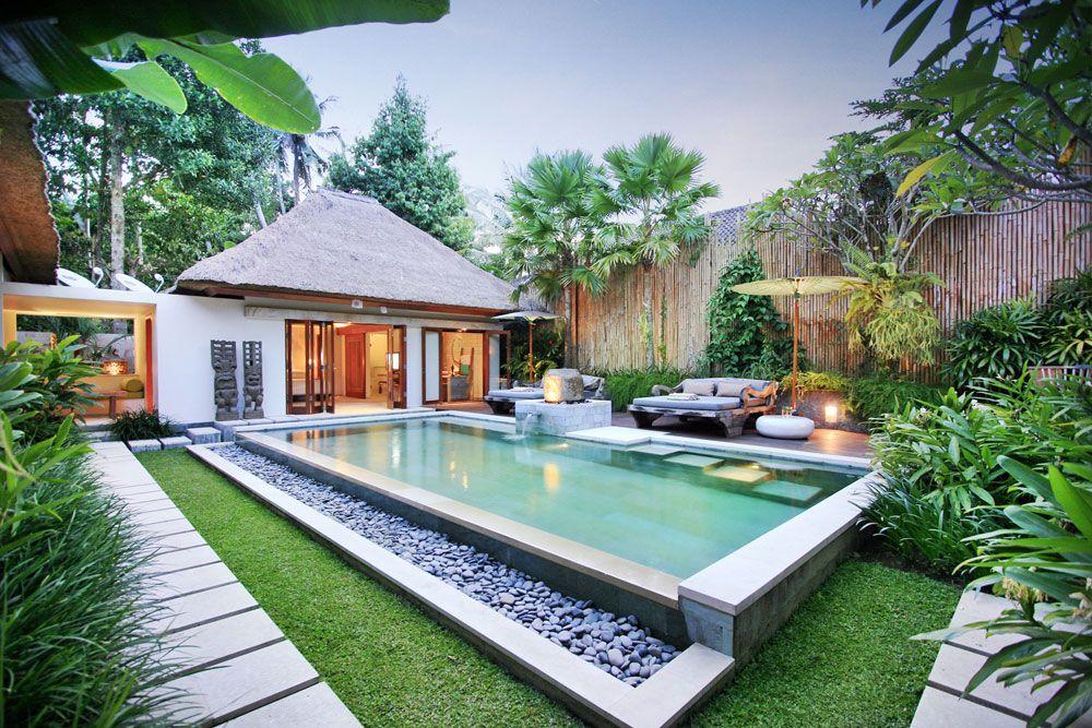 The Purist Villas Spa Hotel Ubud Luxury Boutique Hotel Bali Indonesia Bali Style Home Pool Houses Backyard Pool Designs