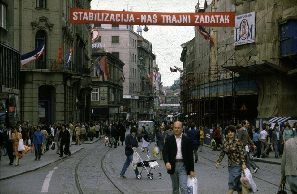"""""""Stabilizacija — naš trajni zadatak"""". Zagreb, 1980e."""