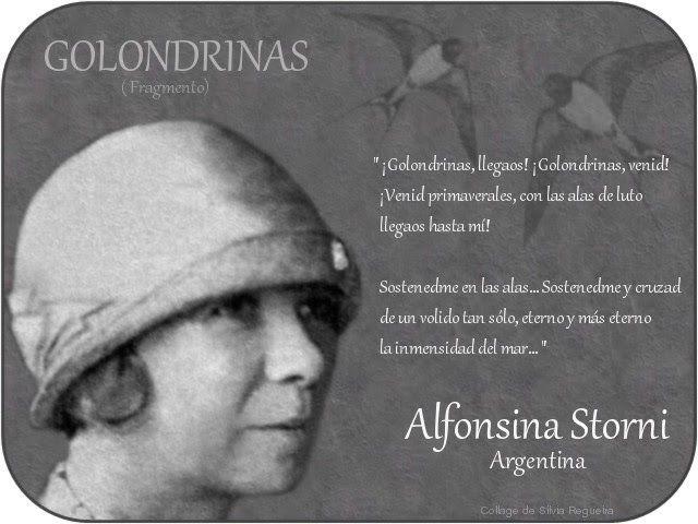 Golondrinas...