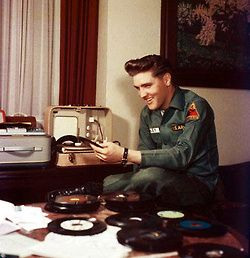 the King and vinyl.