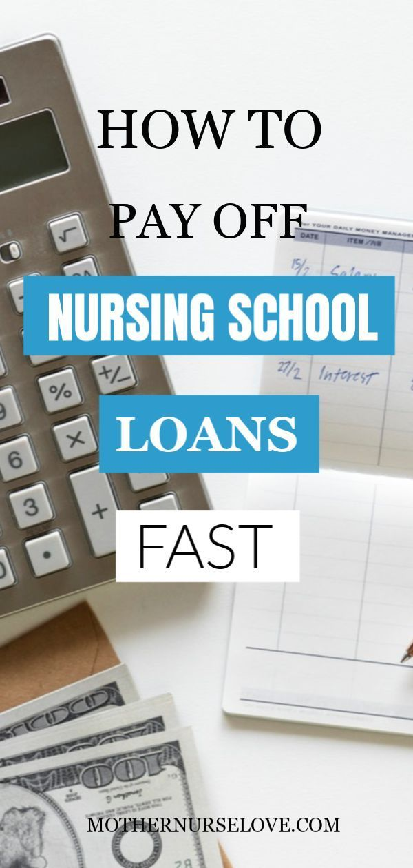 Nurse Money How To Pay Off Nursing School Loans Fast
