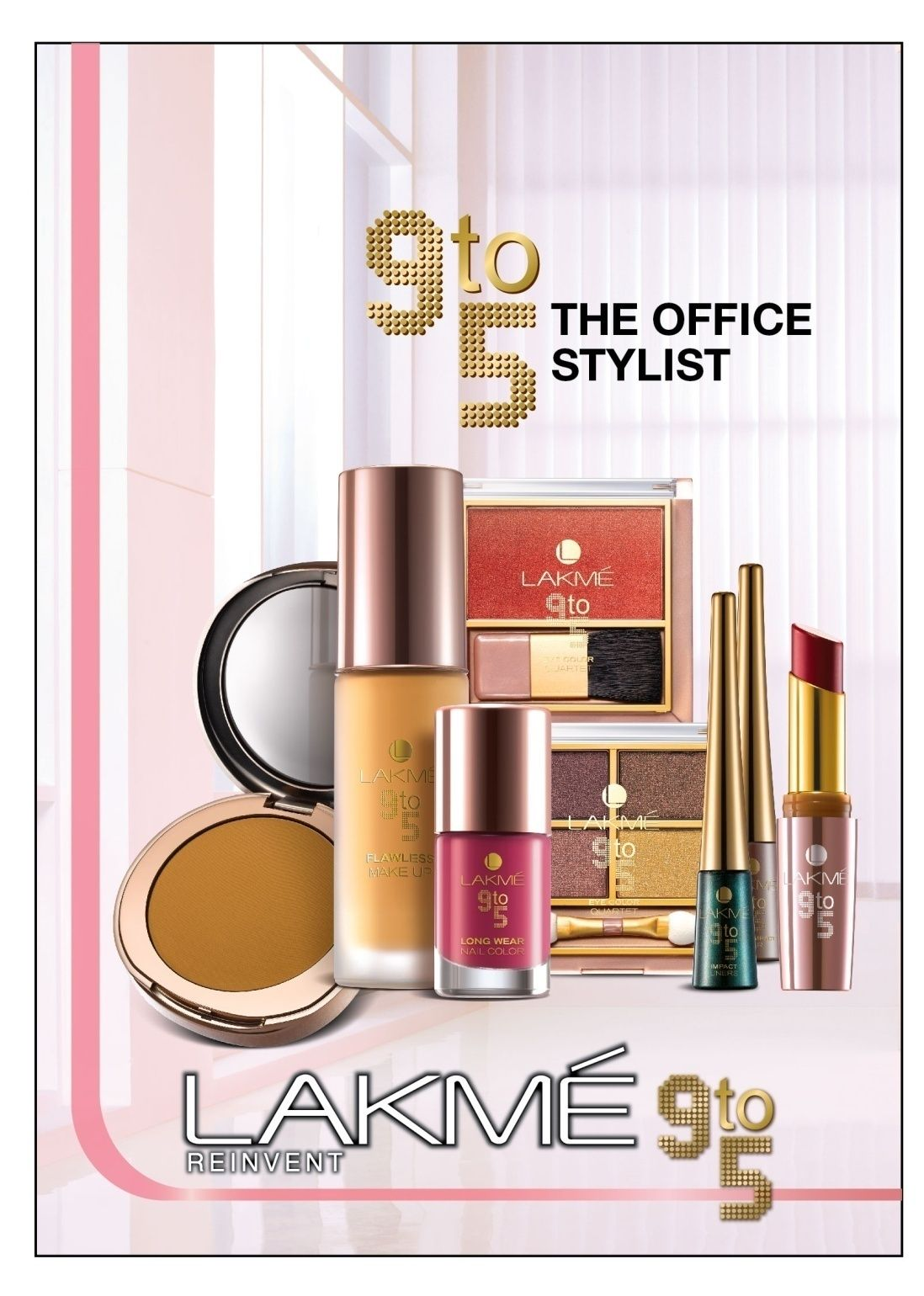 Lakme Makeup Kit | lakme-9-to-5-office-stylist-range|Vanitynoapologies | Indian Makeup .