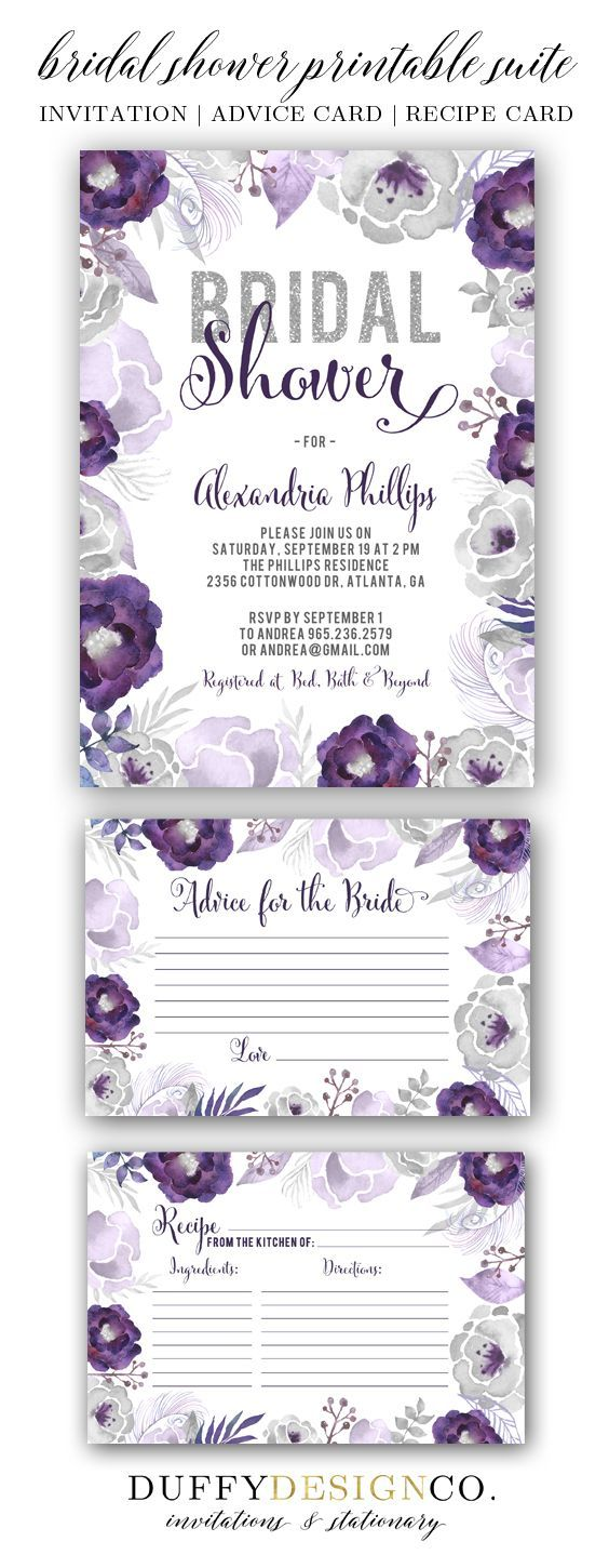Bridal Shower Invite Bridal Advice Card Recipe Card Advice for the Bride Card Bridal Shower Invite Bridal Advice Card Recipe Card Advice for the Bride Card  Bridal Shower...