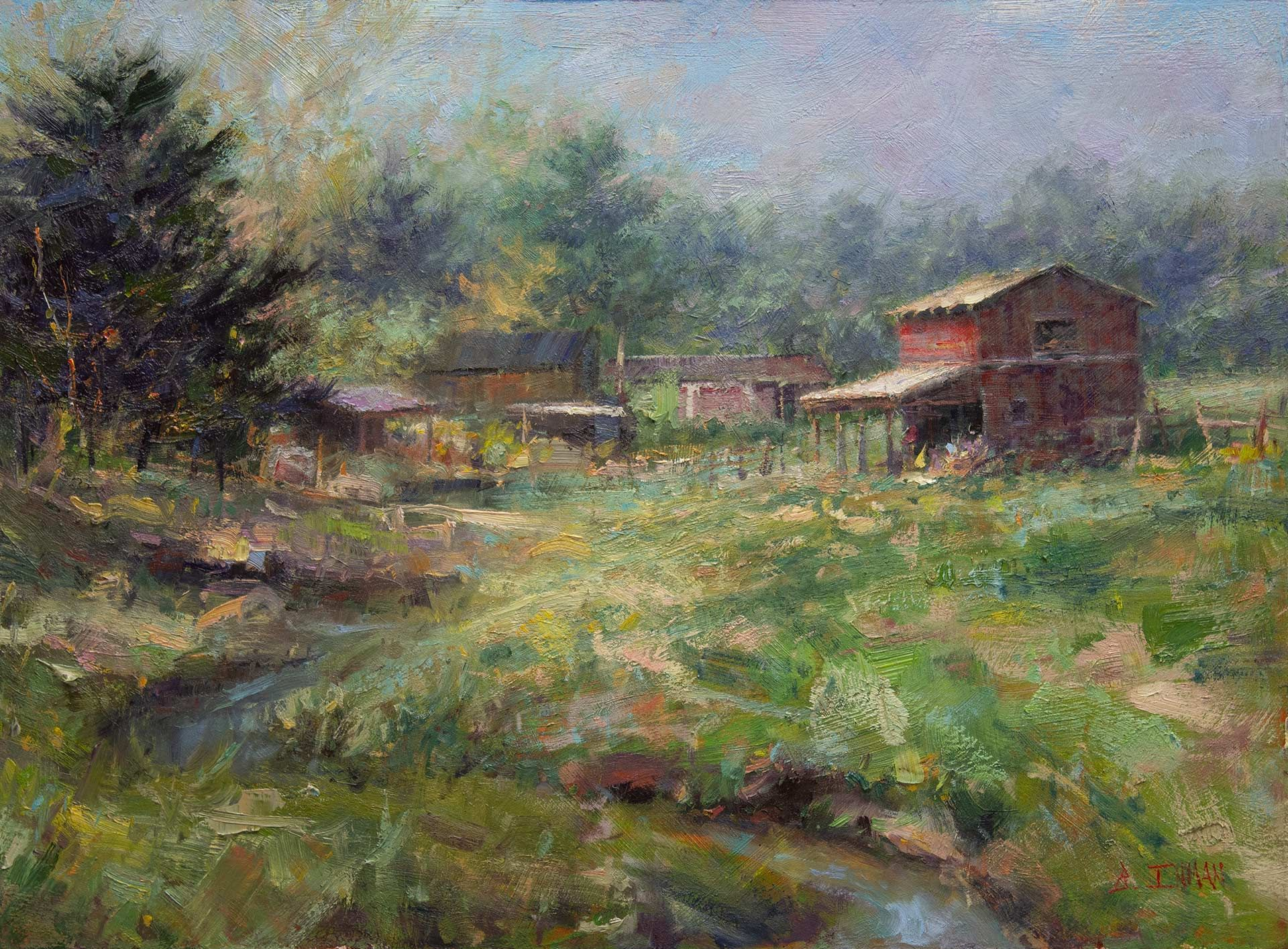 The Powerful Combination of Plein Air and Studio Painting