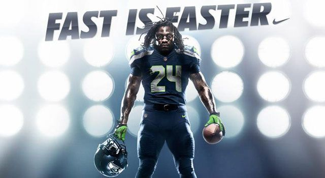 39dc90e7e Seahawk s New Uniforms by Nike. The New Look of Intimidation features an  aggressive combination of Seahawks tradition and Nike innovation.