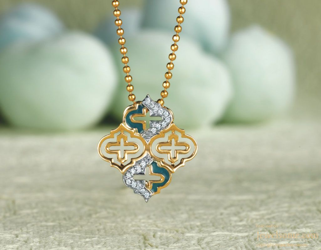 Pendant chain set by tanishq mia baby gal love pinterest