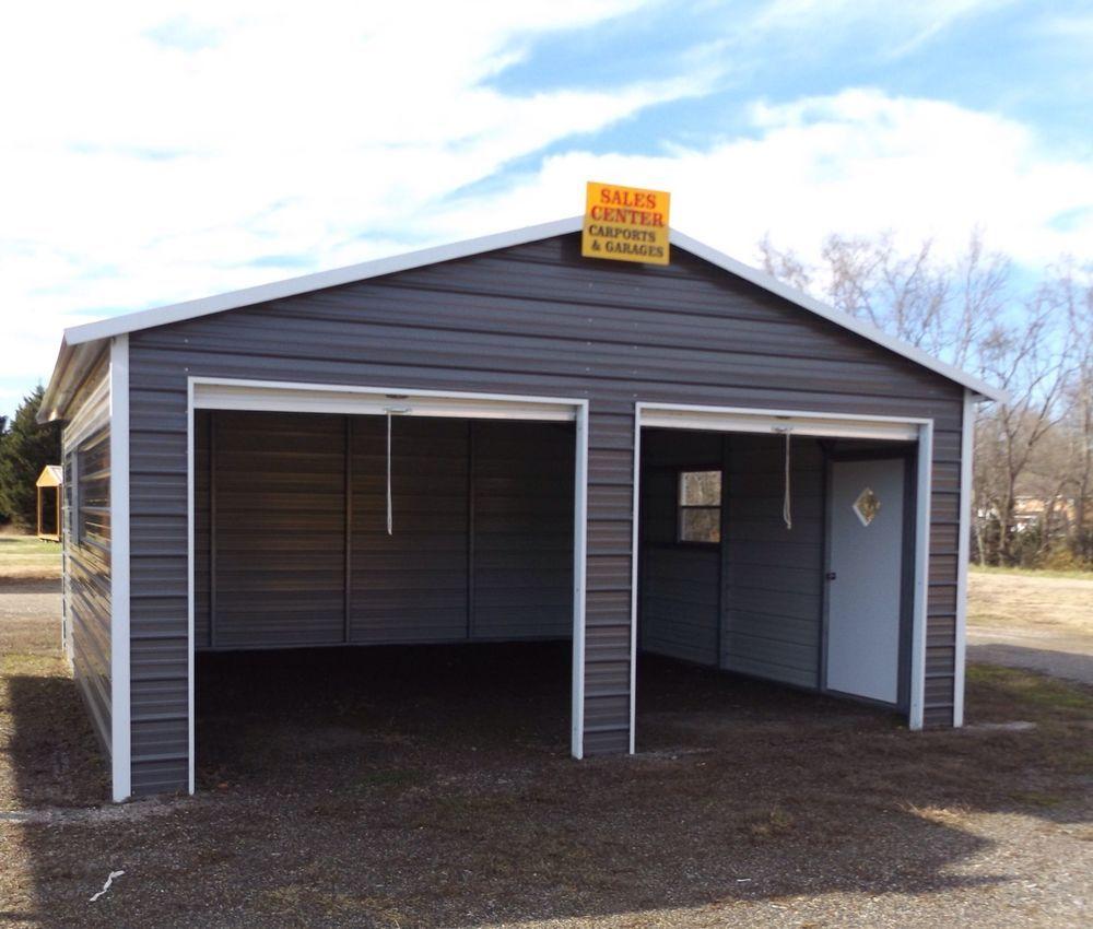 Details About Metal Garage Carport Workshop Metal Building 24 X 31
