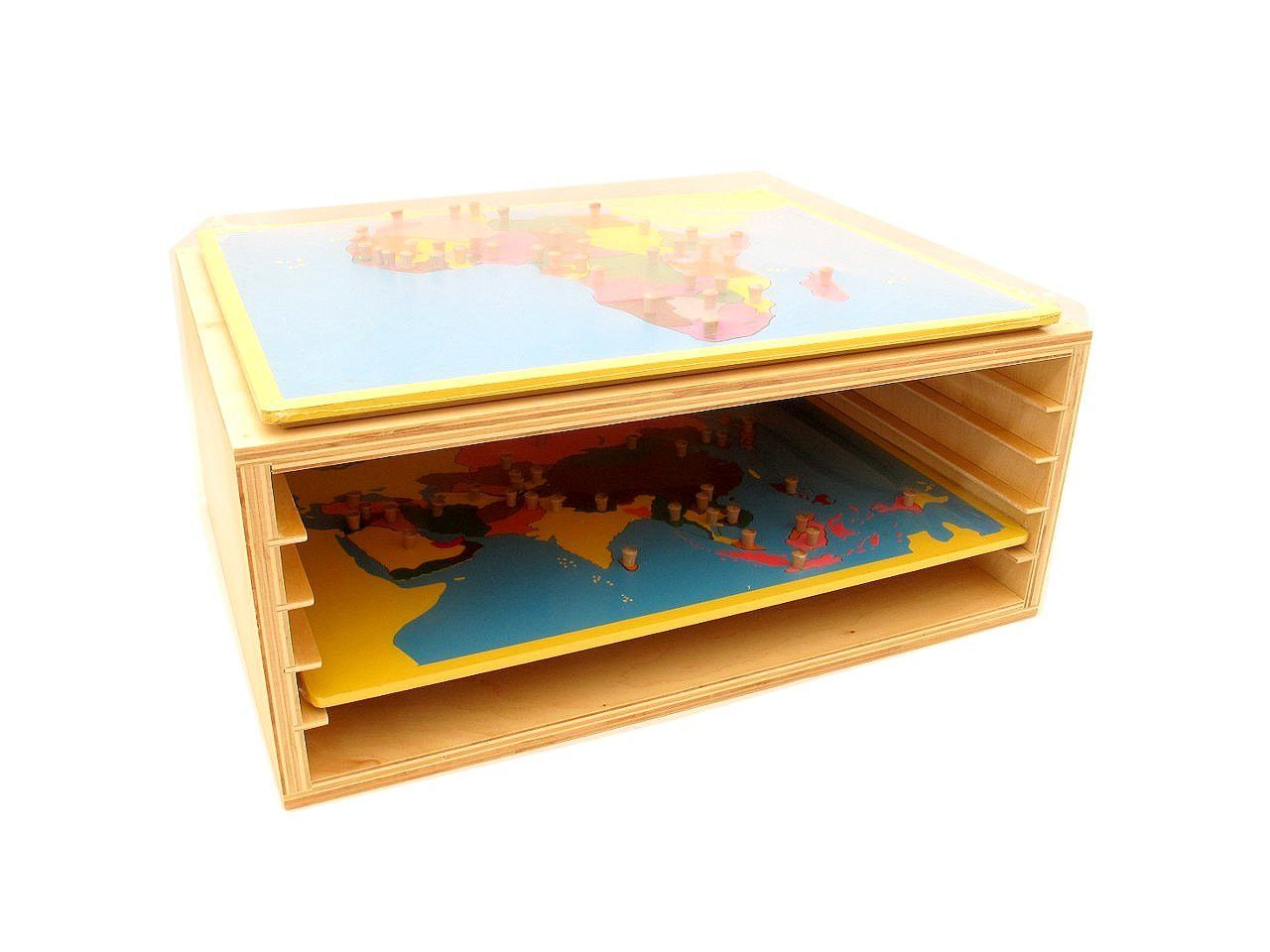 Small Board Map Cabinet for 5 maps | Products, Geography and ...