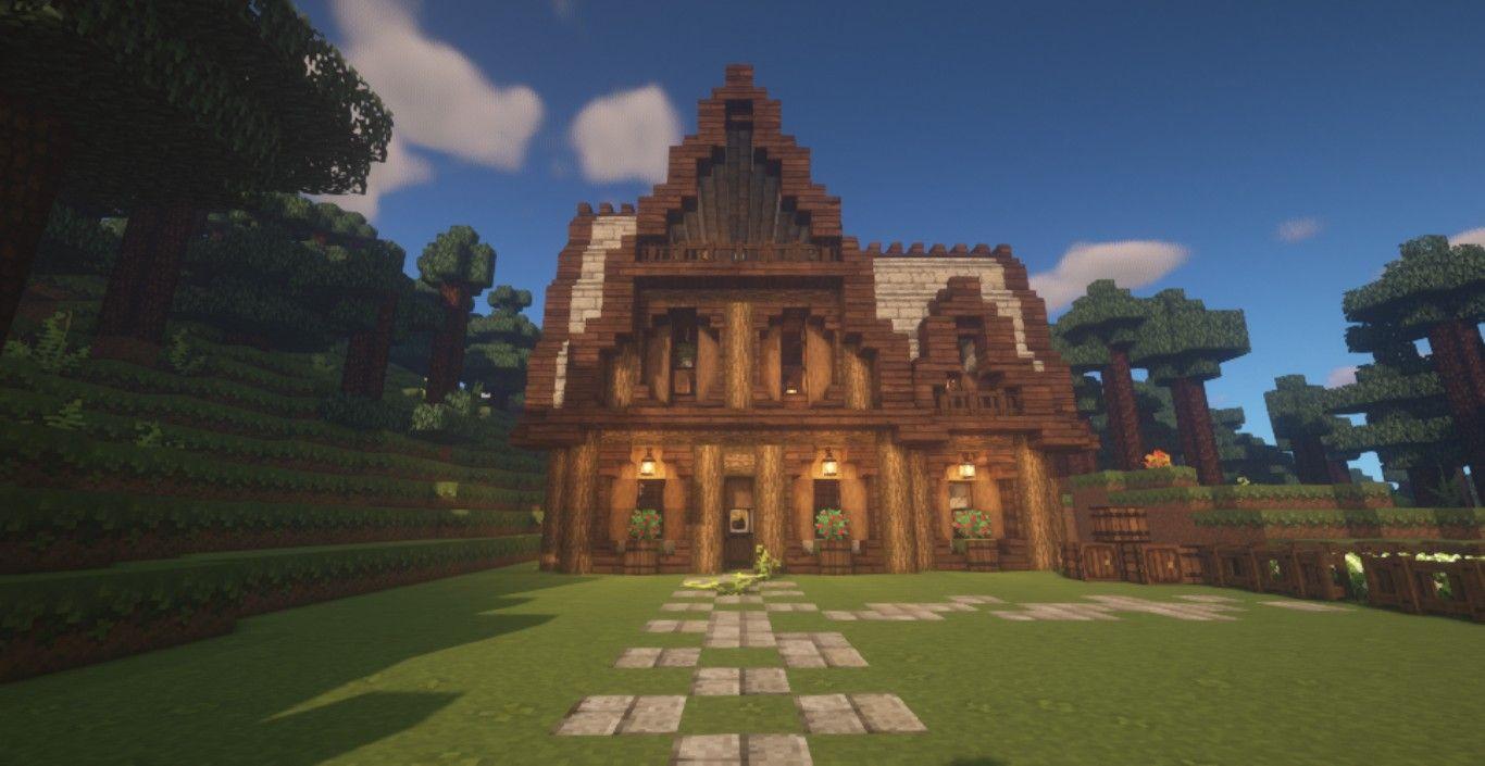 Aesthetic Minecraft Houses