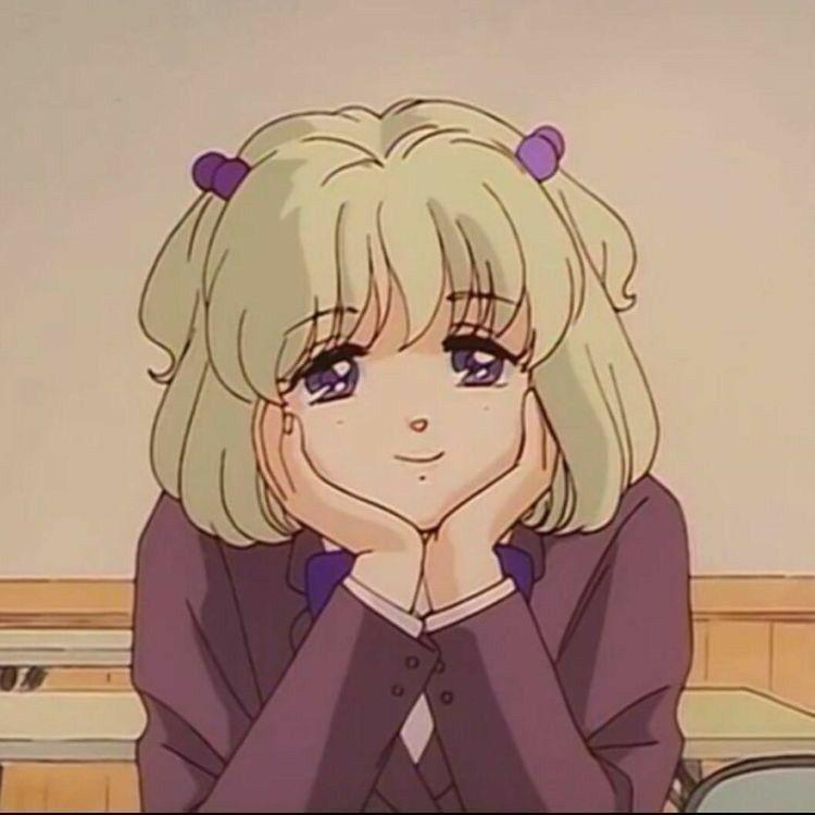 Cute Icon 90s Anime Old Anime Aesthetic Anime