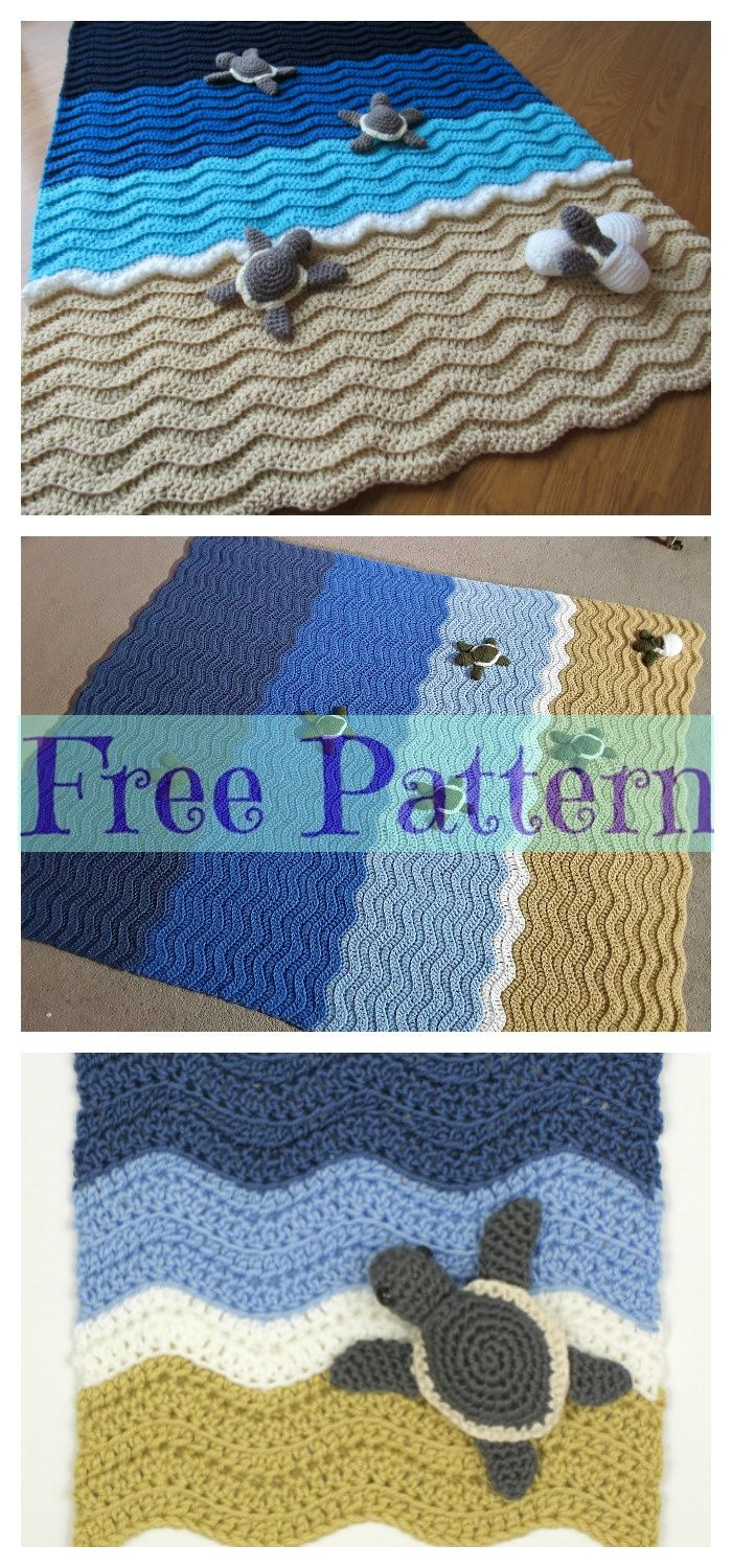 Photo of Crochet Animal Rugs – Free Patterns – DIY 4 EVER