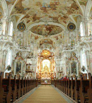Basilika Birnau, Lake Constance, Germany