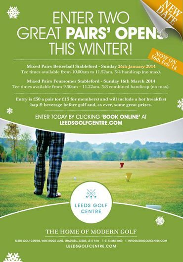 """""""Any Mix"""" Winter Opens on 16th Feb and 16th March at Leeds Golf Centre (https://www.facebook.com/leedsgolfcentre) #wetherby - see the poster for more details..."""
