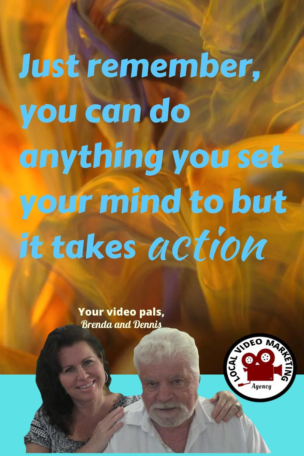 They say Action speaks louder than words and just think if you do that in your business? One type of action is to be consistent with your message to your audience #video #localvideomarketing #success #thursdayvibes #thursdaythoughts