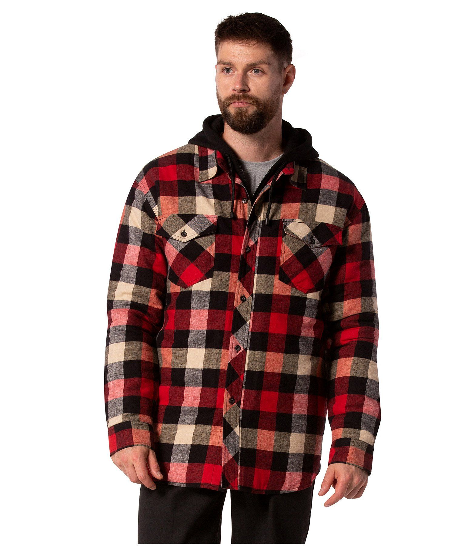 Dakota Plaid Hooded Quilted Flannel Shirt Quilted Flannel Shirt Flannel Shirt Women S Plaid Shirt [ 1800 x 1488 Pixel ]