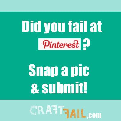 haha! website where people show craft projects from pinterest, martha stewart, etc. that they…