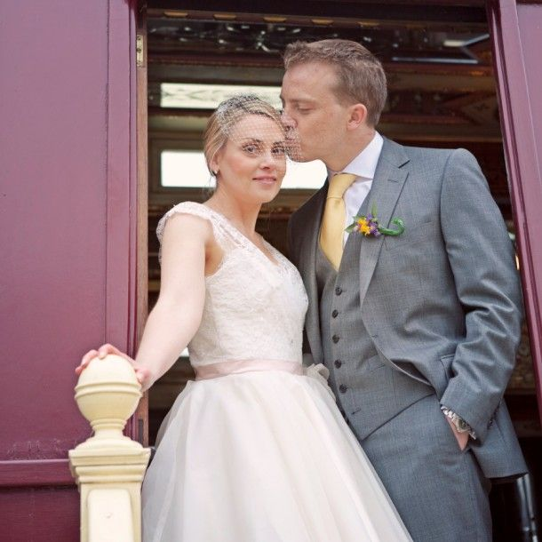 A Vintage Wedding. Love This Guys Suit And Tie. Hands In