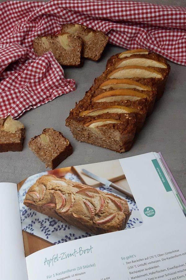 Apfel-Zimt-Brot nach Sophia Thiel Fitness Sweet Kochbuch - #Apfel-Zimt-Brot #Fitness #Kochbuch #nach...