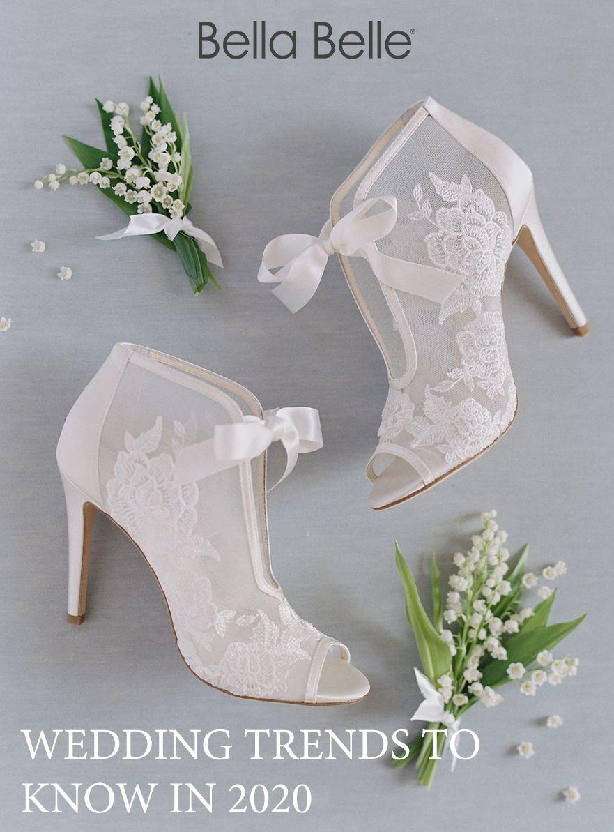 Top 2020 Bridal Shoe Trends Wedding Shoes Bridal Shoes Bridal