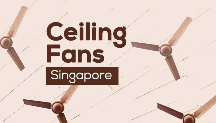 Check out our highly recommended list of 4 Best Ceiling Fan Singapore brands and models for staying cool in the hot and humid weather!