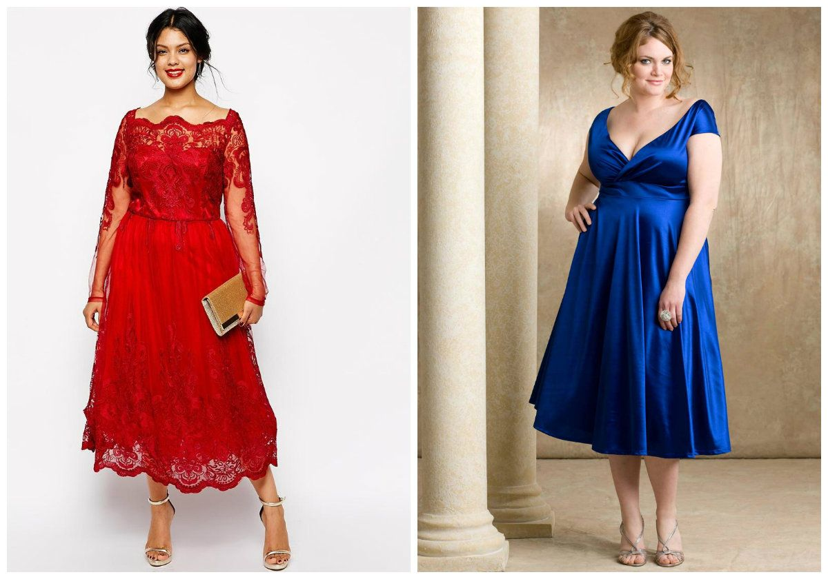 Womenus Plus Size Cocktail and Evening Dresses Trends AutumnWinter