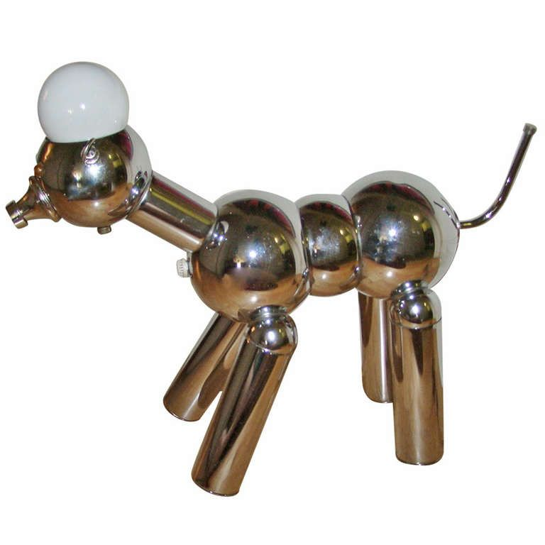 Torino Italian Robot Dog Sculptural Table Lamp 1stdibs Com Vintage Table Lamp Modern Table Lamp Table Lamp
